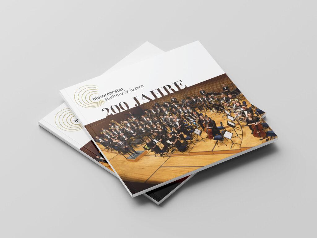 Blasorchester Stadtmusik Luzern, Broschüre, 200 Jahre Jubiläum, Jubiläum