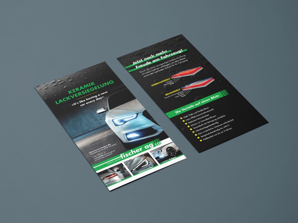 Flyer, Gestaltung, Flyer gestalten, Schlüssel Druck