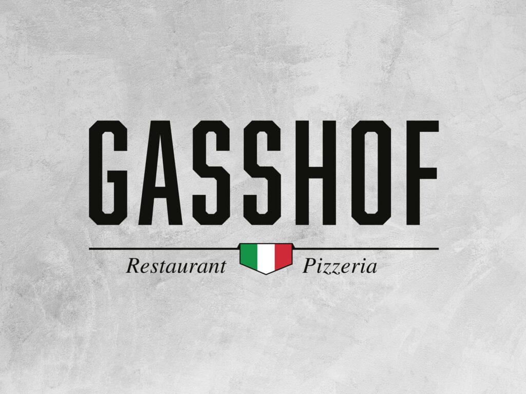 Gasshof, Restaurant, Pizzeria, Logodesign, Briefpapier, Gasshof Luzern